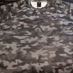 XL Adidas Camo Athletic Shirt